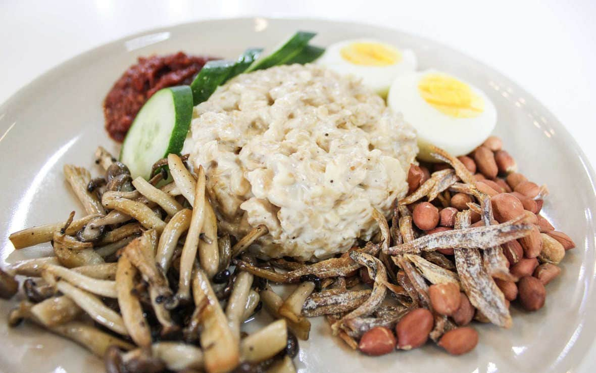 Oatmeal Nasi Lemak: A Healthy Twist to a Malaysian Favourite