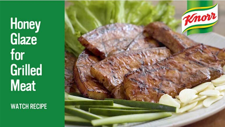 Knorr honey glaze for grilled meat Watch recipe video