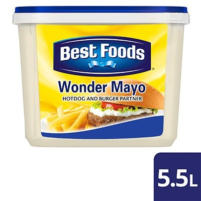 Best Foods Wonder Mayo 5.5L - Best Foods Wonder Mayo has the ideal taste, quality, and cost fit for my menu.