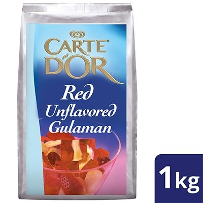 Carte D'Or Red Unflavored Gulaman 1kg -