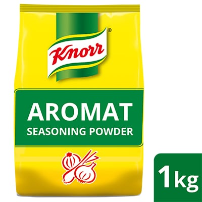 Knorr Aromat All Purpose Seasoning Powder 1kg - A balanced blend of quality herbs and spices, Knorr Aromat Seasoning Powder makes a great all-purpose seasoning for your dishes.