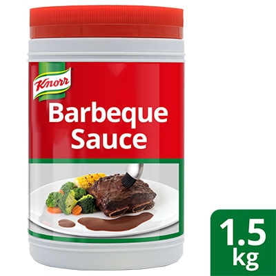 Knorr Barbecue Sauce 1.5kg - Knorr Barbecue Sauce is versatile and ready to use for your different barbecue preparations.
