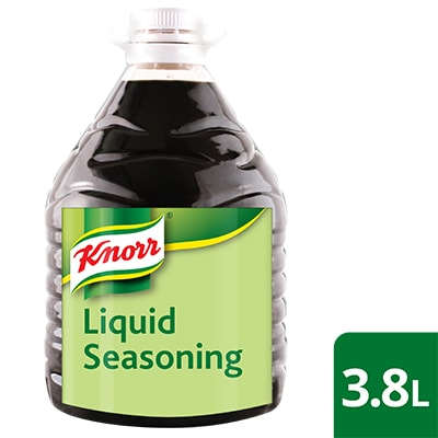 Knorr Liquid Seasoning 3.8L - Only Knorr Liquid Seasoning captures that iconic Filipino taste and aroma that diners love.