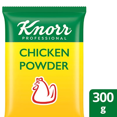 Knorr Chicken Powder 300g - Knorr Chicken Powder elevates my dishes with the rich, meaty taste of real chicken.