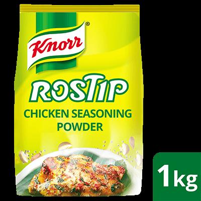 Knorr Rostip Chicken Seasoning Powder 1kg - Knorr Rostip brings an appetizing garlic taste and aroma that diners keep coming back for.