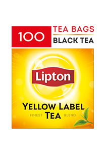 Lipton Yellow Label Tea 100 x 2g - Give your diners the rich blend of black tea only from Lipton.