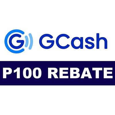 P100 GCash Rebate Voucher -