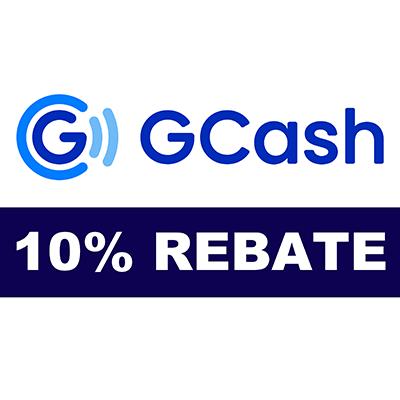 10% GCash Rebate Voucher -