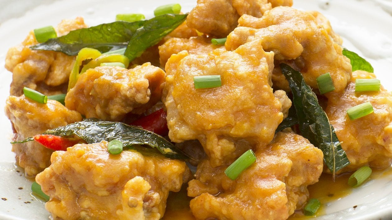 Creamy Salted Egg Chicken